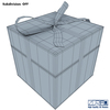 11 34 13 643 gift box wireframe 0001 4