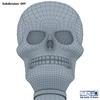 13 42 36 54 skull wireframe 0007 4