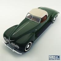 ZiS 101 a sport 3D Model