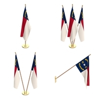 North Carolina Flag Pack 3D Model
