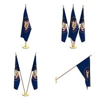 Utah Flag Pack 3D Model