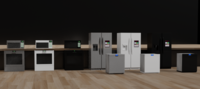 Large Kitchen Appliances 3D Model