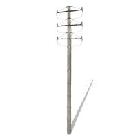 Electricity Pole 1 3D Model