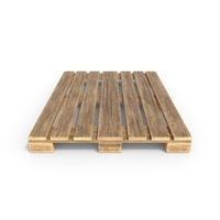 Wooden Pallet 2 3D Model