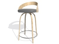 Chair Bar 02 3D Model