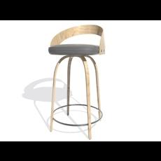 Chair Bar 02 3D Model