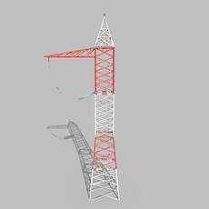 Electricity Pole 6 3D Model
