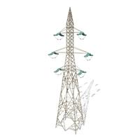 Electricity Pole 7 3D Model