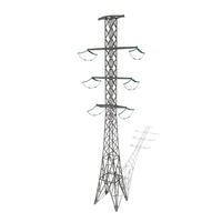 Electricity Pole 13 3D Model