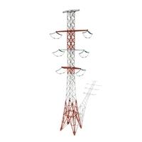Electricity Pole 14 3D Model
