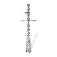 Electricity Pole 15 3D Model