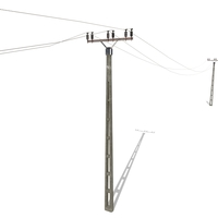 Electricity Pole 20 3D Model