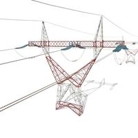Electricity Pole 22 3D Model