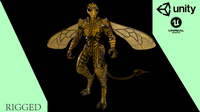 Mutant Wasp 3D Model