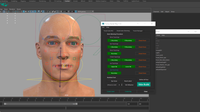 Tuna Facial Auto Rigging 1.1.1 for Maya (maya script)