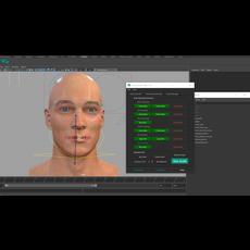 Tuna Facial Auto Rigging 1.2.0 for Maya (maya script)