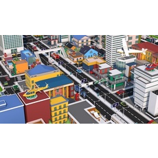 Low Poly City Mega Pack v3.0 3D Model