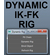 DYNAMIC IK-FK RIG 0.0.1 for Maya (maya script)