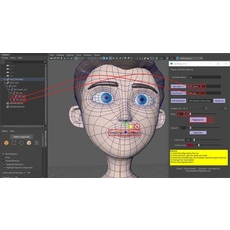 Lip Rig Easy 0.0.1 for Maya (maya script)