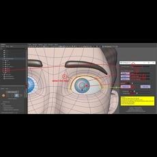 Eye_Rig_Easy 0.0.1 for Maya (maya script)