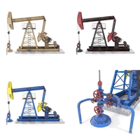 Oil Pumpjack Pack 3D Model