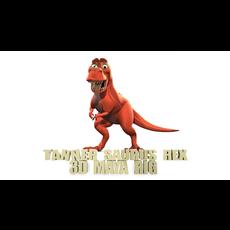 Tanner Saurus Rex - 3D Maya rig 3D Model