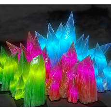 3D CRYSTAL STONES - Game Ready 3D Model