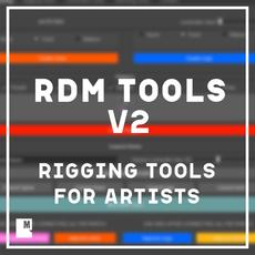 RdM Tools V2// Commercial License 2.0.0 for Maya (maya script)