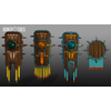 05 40 10 834 unreal unity 3d aztec shields mexico game art 5 4
