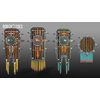 05 40 18 740 unreal unity 3d aztec shields mexico game art 6 wireframe 4