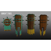 05 40 19 169 unreal unity 3d aztec shields mexico game art 6 4