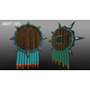 05 40 21 353 unreal unity 3d aztec shields mexico game art 3 4