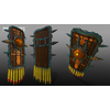 05 40 40 588 unreal unity 3d aztec warrior shields mexico game art 4
