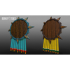 05 40 44 167 unreal unity 3d aztec shields mexico game art 3a 4