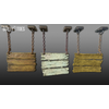 22 22 38 931 unreal unity 3d 3tier hanging sign game art 1 4