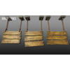 22 23 14 820 unreal unity 3d 3tier hanging sign game art 12 4