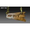 23 13 48 996 unreal unity 3d keep out handing wooden sign game art 5 4