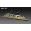 23 14 13 848 unreal unity 3d keep out handing wooden sign game art 15 4