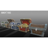22 54 05 631 unreal unity 3d treasure chest game art all wireframe 2 4