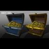 22 54 42 185 unreal unity 3d treasure chest game art treasure 2 4