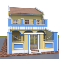 VICTORIAN_HOUSE 3D Model
