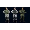 20 06 44 233 male soldiers 3d render 4