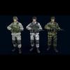 Male soldier 3D Model