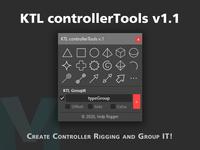 KTL ControllerTools 1.1.0 for Maya (maya script)