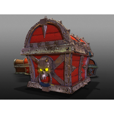 3D PIRATE CHESTS - Game Ready 3D Model