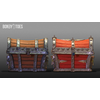 02 42 47 949 unreal unity 3d pirate skull chest game art front 3 4