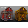 02 43 06 168 unreal unity 3d pirate skull chest game art side 3 4