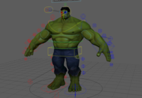 Hulk rig 1.0.0 for Maya