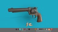 Revolver Colt Single Action 3D Model