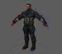 Captain America End Game Rig 1.0.0 for Maya